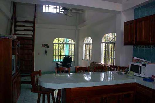 Kitchen Counter at La Casa Verede Panama